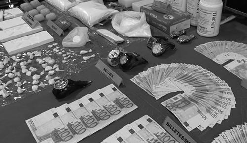 Delitos de tráfico de drogas